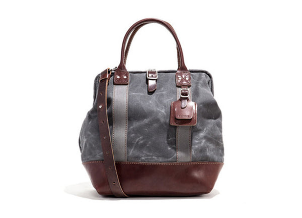 "Billykirk 12"" Mason Carryall Bag - Ash"