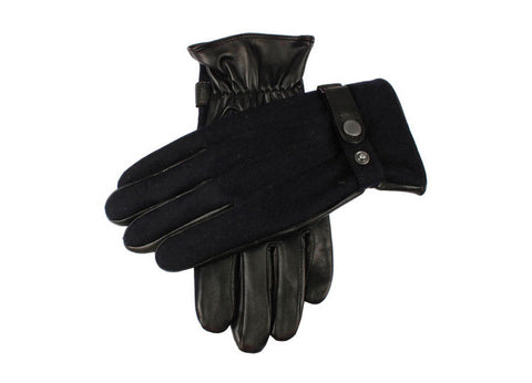Dents Navy & Black Men's Gloves