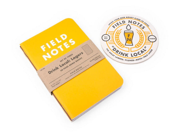 Field Notes Limited Edition Craft Beer Notebooks - Lagers