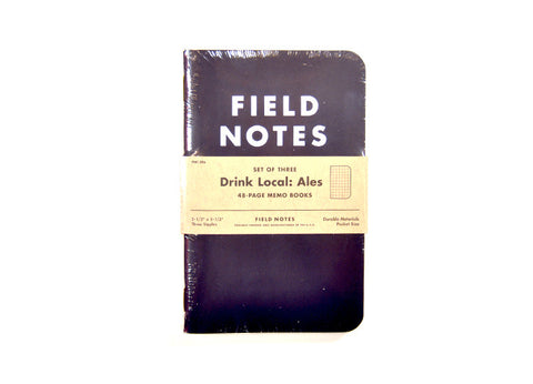 Field Notes Limited Edition Craft Beer Notebooks - Ales