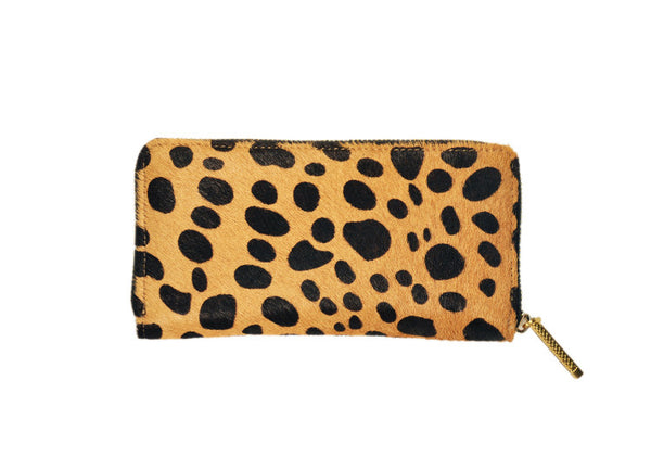 Flynn Crawford Cowhide Wallet - Tan
