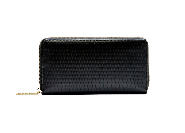 Flynn Crawford Lattice Wallet - Black