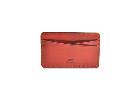 Il Bussetto Slim Card Holder - Red