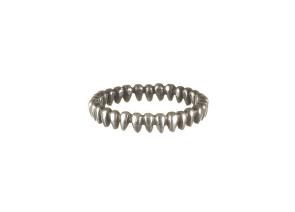 Inez By Boe Echo Venom Ring - Silver