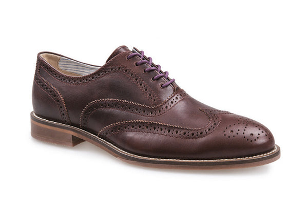 J Shoes Charlie Men's Brogues - Raisin