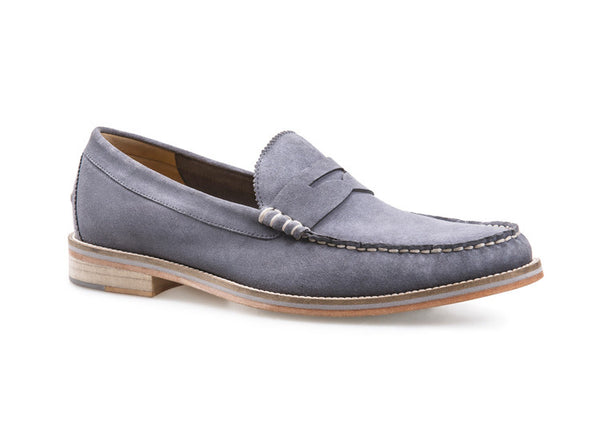 J Shoes Shilling Men's Loafers - Grey