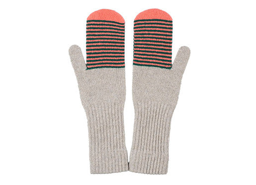 Jo Gordon Silverbirch Fine Stripe Mittens