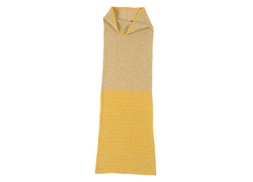 Jo Gordon Pale Yellow Neck Warmer