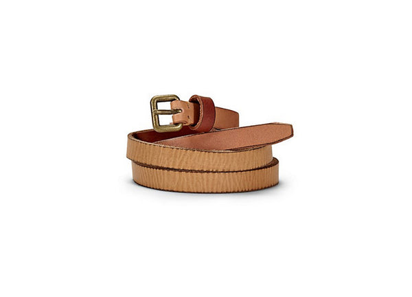 Liebeskind Skinny Tan Leather Belt