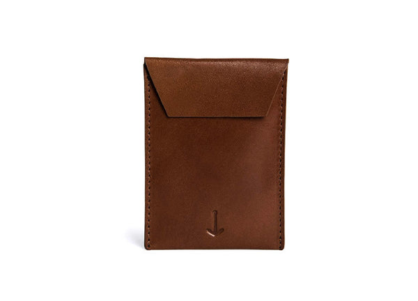 Miansai Envelope Card Holder - Brown