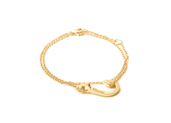 Miansai Mini Hook Chain Bracelet - Gold