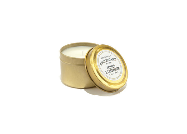 Paddywax Apothecary Cardamom & Vetiver Travel Candle