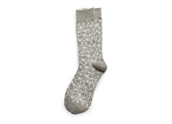 Richer Poorer Automan Socks - Grey