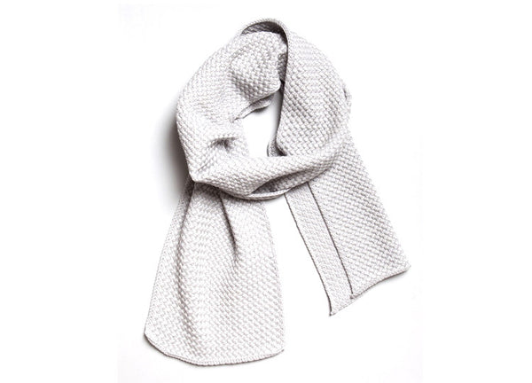 String Theory Basket Scarf - Grey