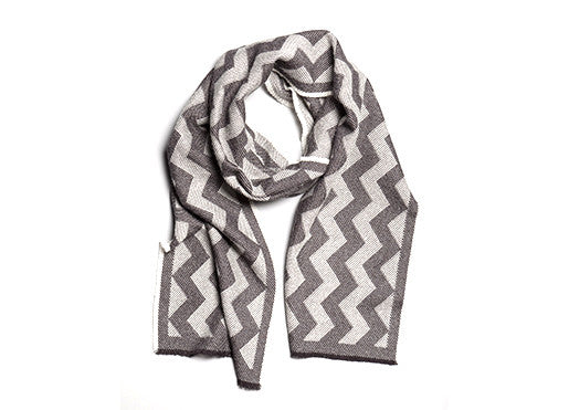 String Theory Chevron Scarf