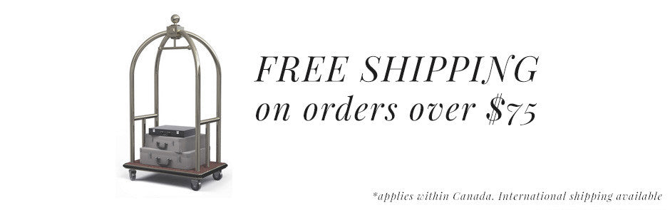 Free shipping on all Elevator orders over $75