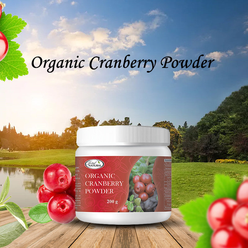 Organic Cranberry Powder 200g