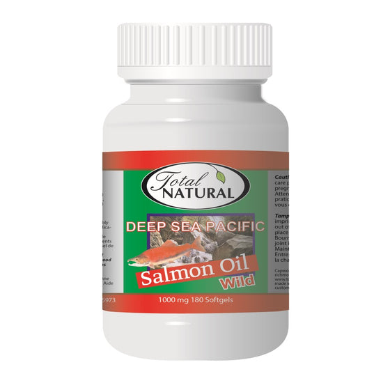 Wild Salmon Oil Deep Sea Pacific 1000mg 180s