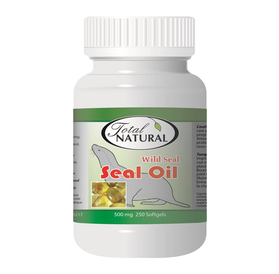 Wild Seal Oil 500mg 250s