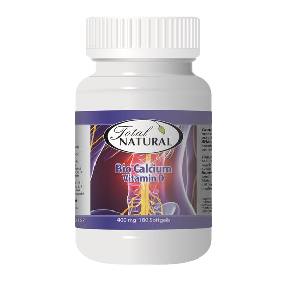 Bio Calcium with Vitamin D Supplement 400mg 180s