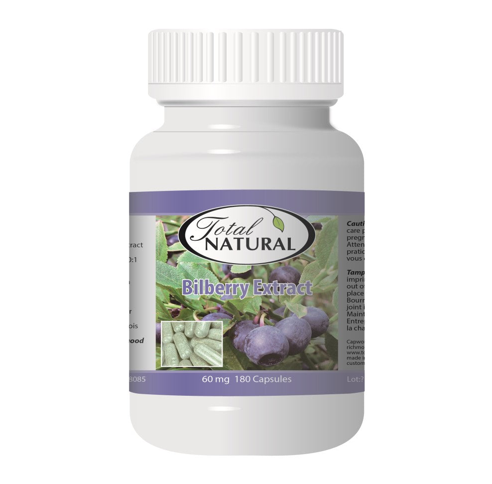Bilberry Extract 60mg 180c