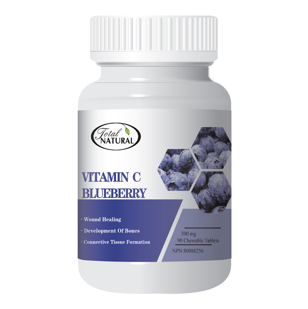 Vitamin C Blueberry 500mg 90 Chewable Tablet