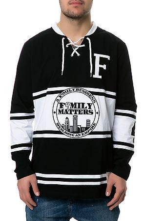 The F4mily Matters Classic Hockey Jersey in black