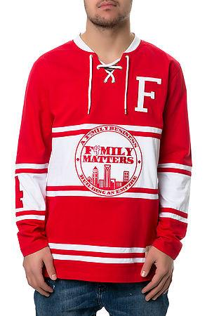 The F4mily Matters Classic Hockey Jersey in Red