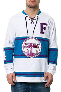 The F4mily Matters Classic Hockey Jersey in Purple
