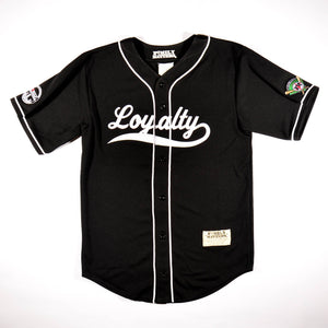 The Loyalty Baseball Jersey In Black