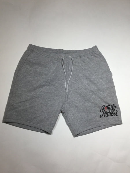 New F4M Logo Jogger Shorts