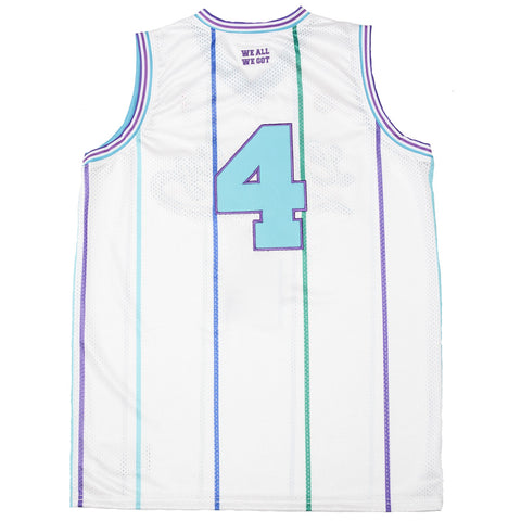The Loyalty Basketball Jersey in White