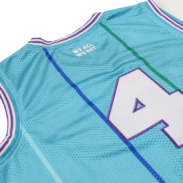 The Loyalty Basketball Jersey in Teal