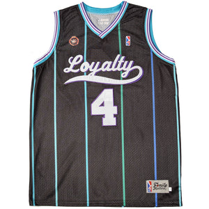 The Loyalty Basketball Jersey in black