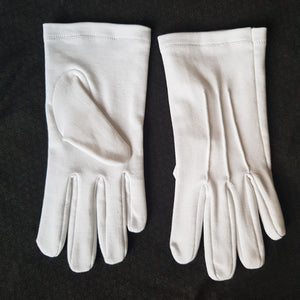 White Masonic Gloves