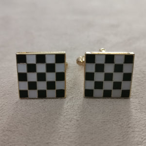Black and White Cufflinks