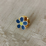 Blue Forget Me Not Pin