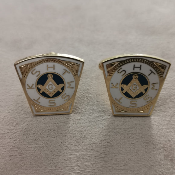 Gold Mark Master Cufflinks