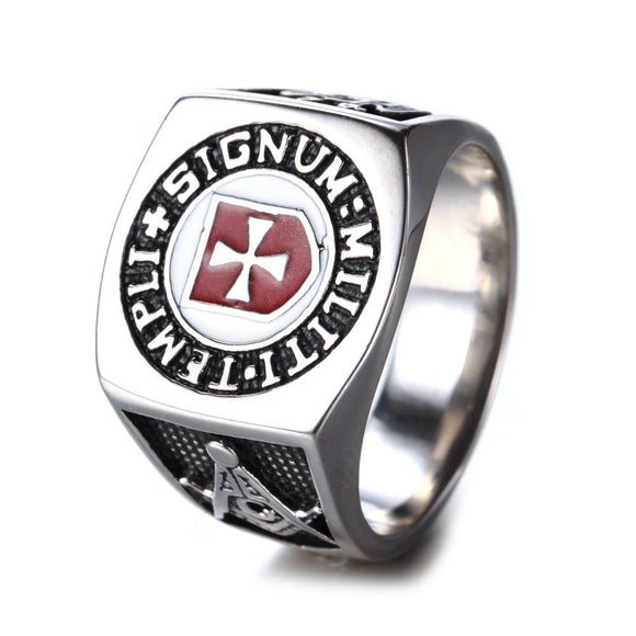 Knights Templar Ring with Scottish Rite