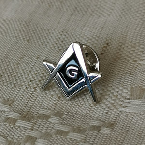 Square and Compass G Pin
