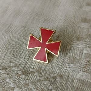 Templar Cross Pin