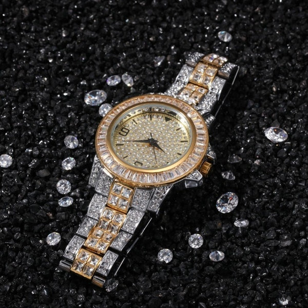 Rhinestones Iced Watch