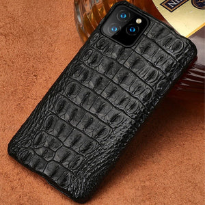 100% Crocodile Leather Case