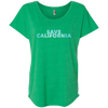 CustomCat T-Shirts Envy / X-Small Save California Bold Font Ladies' Triblend Dolman Sleeve