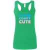 Coffee Comfy Cute Multi-Color Ladies' Softstyle Racerback Tank
