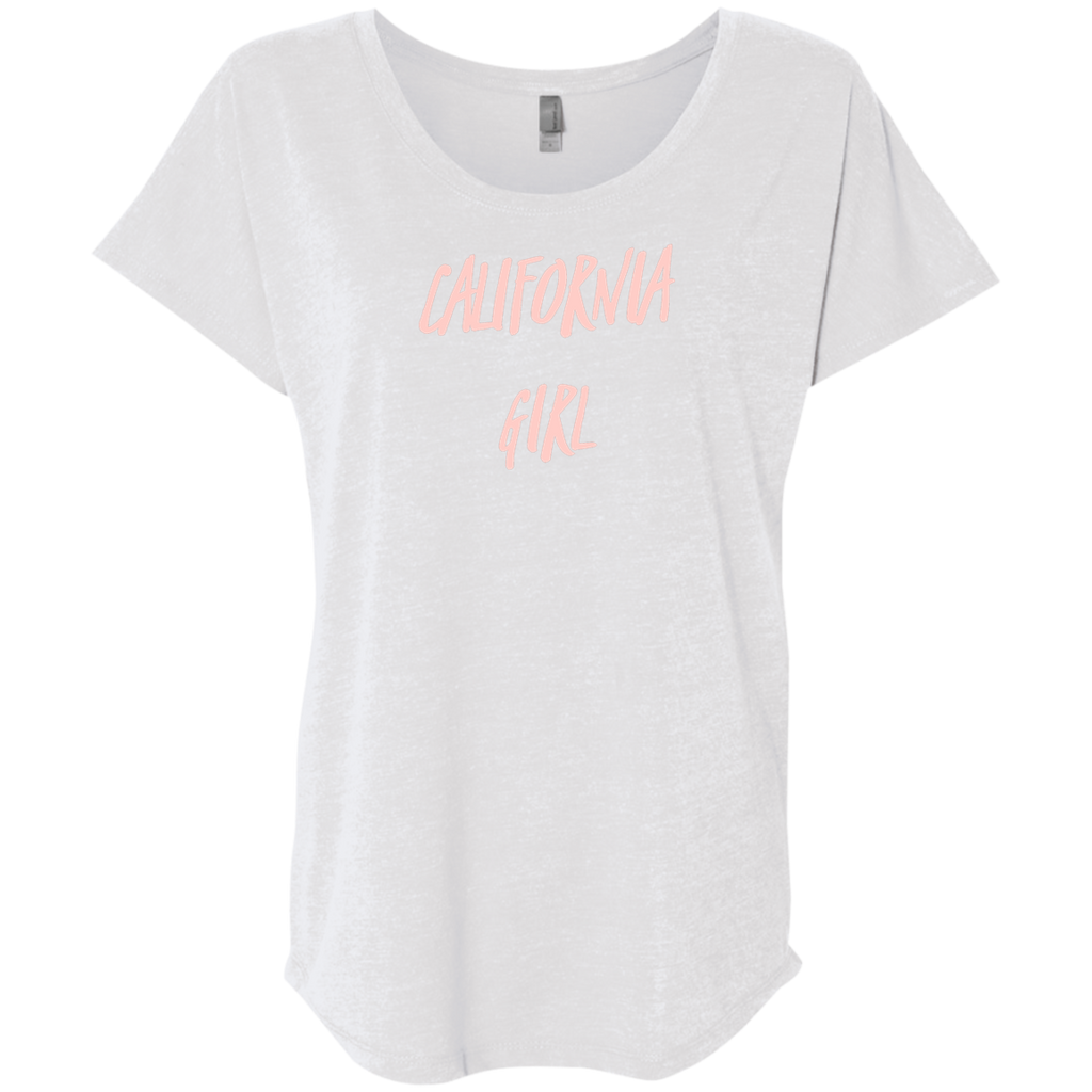 CustomCat T-Shirts Heather White / X-Small NL6760 Next Level Ladies' Triblend Dolman Sleeve