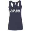 CustomCat T-Shirts Navy / S G645RL Gildan Ladies' Softstyle Racerback Tank