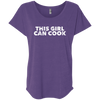 CustomCat T-Shirts Purple Rush / X-Small NL6760 Next Level Ladies' Triblend Dolman Sleeve