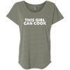CustomCat T-Shirts Venetian Grey / X-Small NL6760 Next Level Ladies' Triblend Dolman Sleeve