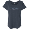 CustomCat T-Shirts Vintage Navy / X-Small Save California Ladies' Triblend Dolman Sleeve